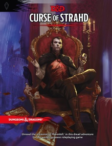 D&D Curse of strahd book